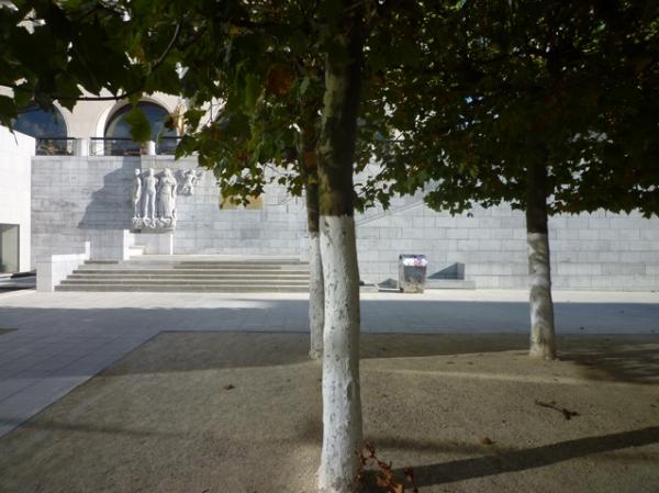 Bruxelles, Mont des Arts, 19 septembre 2012