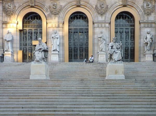 Bibliothèque nationale d'Espagne, Madrid (Espagne), 21 septembre 2012