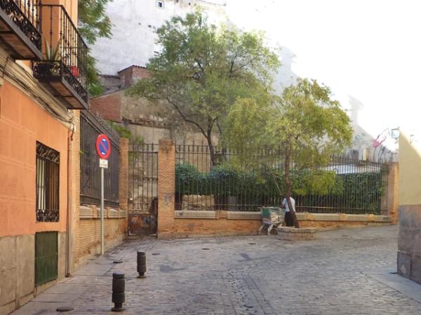 Madrid (Espagne), Calle del Almendro, 22 septembre 2012