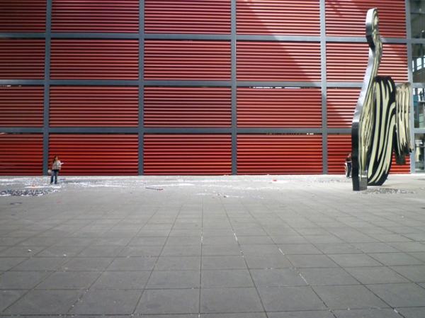 Musée Reina Sofía, Madrid (Espagne). Bâtiment Jean Nouvel, 22 septembre 2012