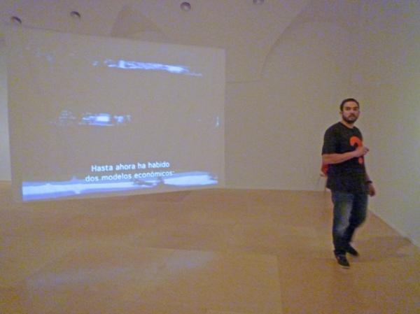 Museo Nacional Centro de Arte Reina Sofía, Madrid (Espagne), Exposition Espectros de Artaud, 23 août 2012