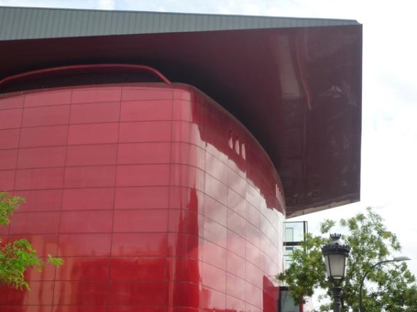Musée Reina Sofía, Madrid (Espagne). Bâtiment Jean Nouvel, 23 septembre 2012