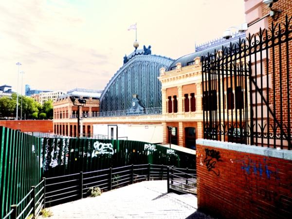 Madrid, gare d'Atocha, 23 septembre 2012