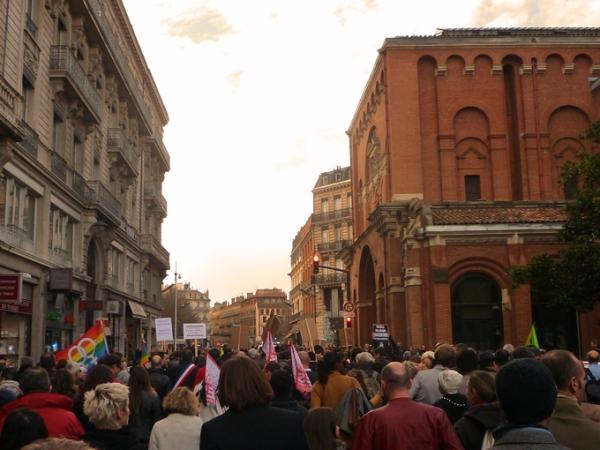 Manifestation en faveur du mariage pour tous, Toulouse, 16 décembre 2012