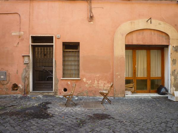 Rome (Italie), via Baccina, 24 décembre 2012