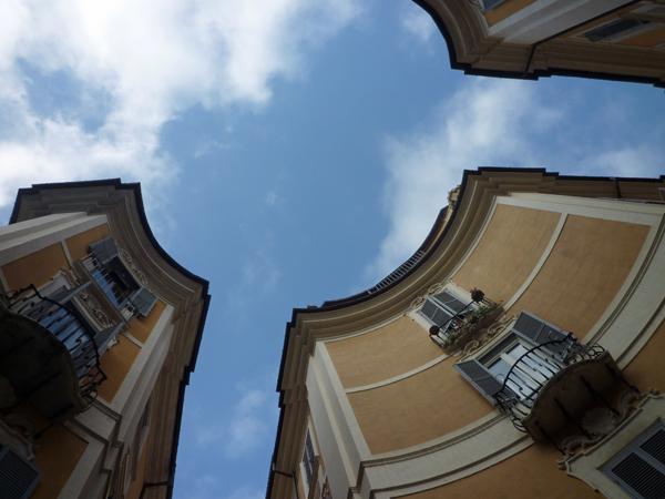 Rome (Italie), piazza di Sant Ignazio, 24 décembre 2012