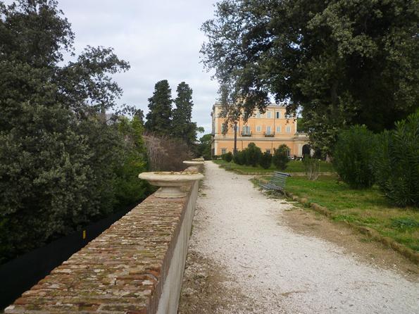 Villa Celimontana, Rome (Italie), 27 décembre 2012