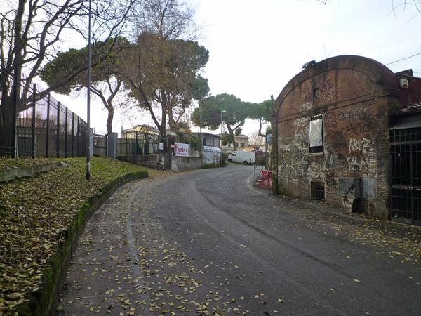 Rome (Italie), quartier du Testaccio, 25 décembre 2012
