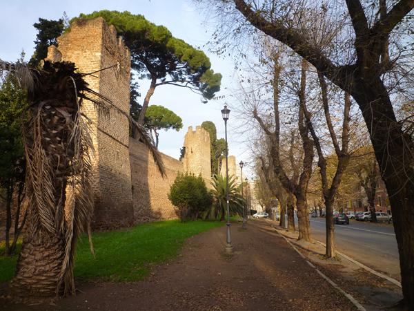 Rome (Italie), via del Campo Boario, 25 décembre 2012