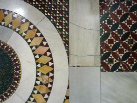 Rome (Italie). Basilique Santa Prassede, 26 décembre 2012