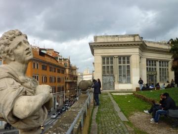 Rome (Italie), Villa Aldobrandini, 26 décembre 2012