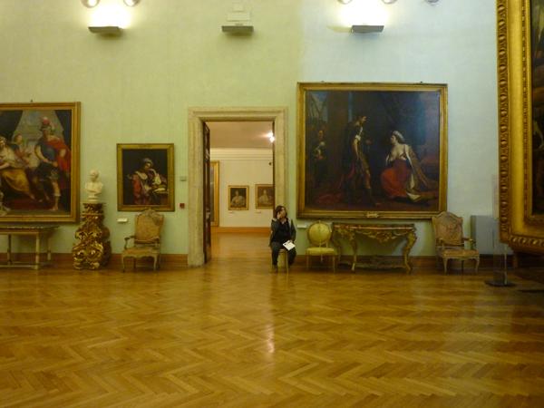 Rome (Italie). Musei Capitolini, 26 décembre 2012