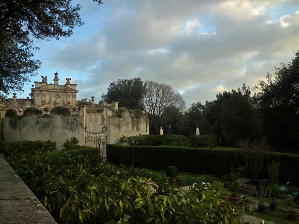 Villa Borghese, Rome (Italie), 27 décembre 2012