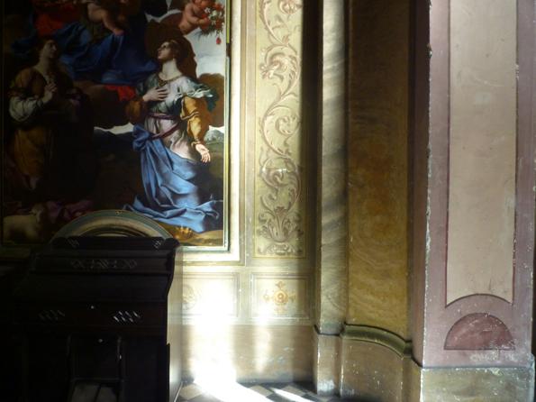 Église San Carlo alle Quattro Fontane, Rome (Italie), 28 décembre 2012
