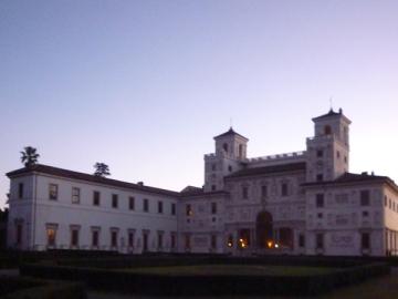 """<span style=""""font-family: Arial, Helvetica; font-size: 8pt;""""><Rome (Italie). Villa Medici (Villa Médicis), 28 décembre 2012"""