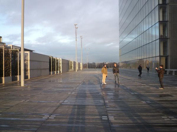 Bibliothèque nationale de France (Paris), 11 janvier 2012