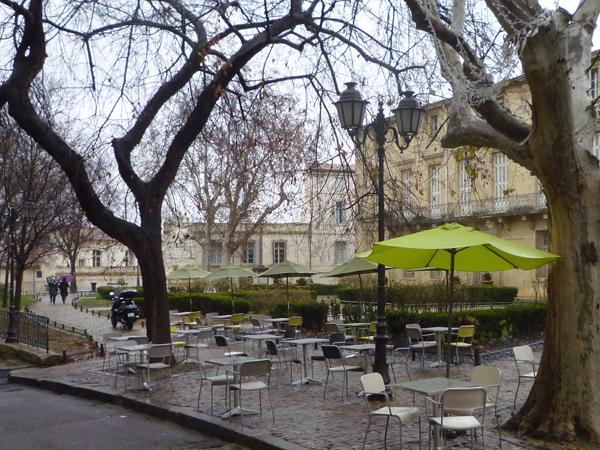 Montpellier, Place de La Canourgue, 19 janvier 2013
