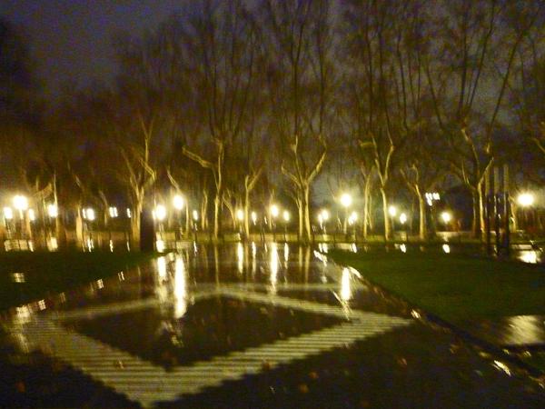 Montpellier, devant le musée Fabre, 19 janvier 2013