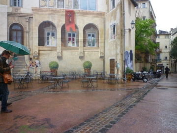 Montpellier, place Saint-Roch, 6 avril 2013