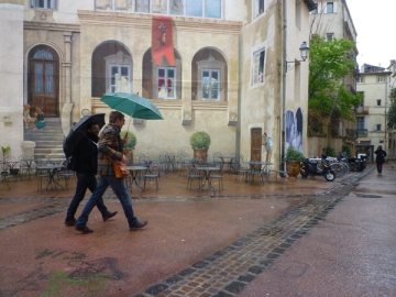 Montpellier, place Saint-Roch, 6 avril 2013