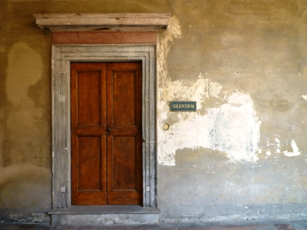 Parma (Parme), Emilia-Romagna (Émilie-Romagne), Italie. Monastero di San Giovanni Evangelista, 22 juillet 2013