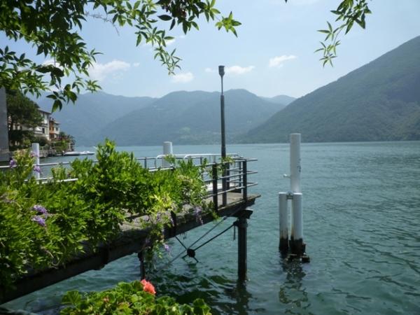 Lac de Lugano à San Mamete (Lombardie, Italie), 15 juillet 2013