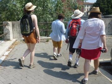 Anglais à Vérone (Italie), 19 juillet 2013