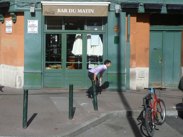 Toulouse (France), place des Carmes = plaça dels Carmes, dimanche 13 octobre 2013