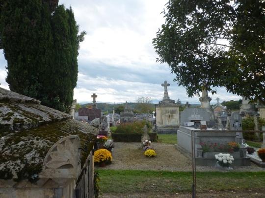 Cimetière de Blajan (Haute-Garonne, France), 2 novembre 2013