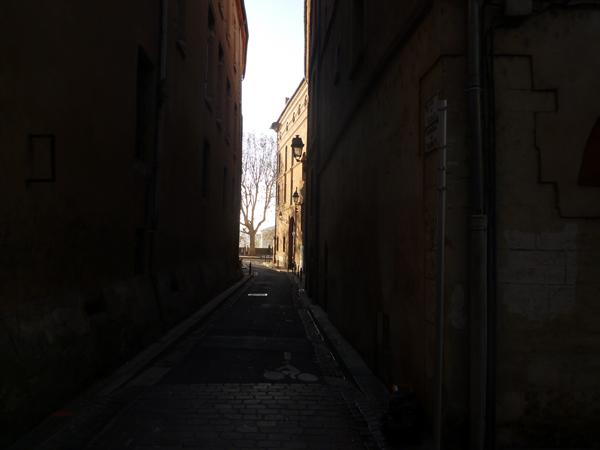 Toulouse (France), rue du Tabac = carrièra del Tabat, dimanche 8 décembre 2013
