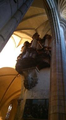 Toulouse (France), cathédrale Saint-Étienne, 9 mars 2014