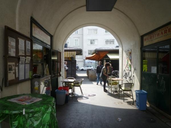 Wien (Österreich) = Vienne (Autriche), Naschmarkt, 24 avril 2014