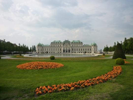 Vienne (Autriche) = Wien (Österreich), Belvedere, 24 avril 2014
