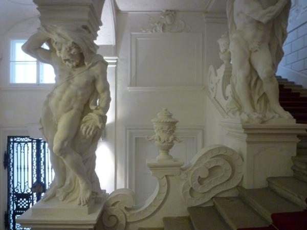Vienne (Autriche) = Wien (Österreich), Palais du prince Eugène de Savoie, 26 avril 2014
