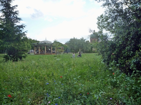 Toulouse (France), jardin Raymond VI, 25 mai 2014