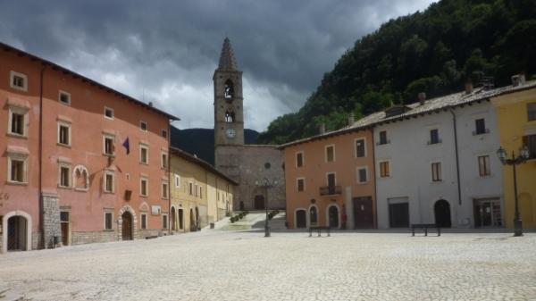 Leonessa (Lazio, Italie), 8 juillet 2014