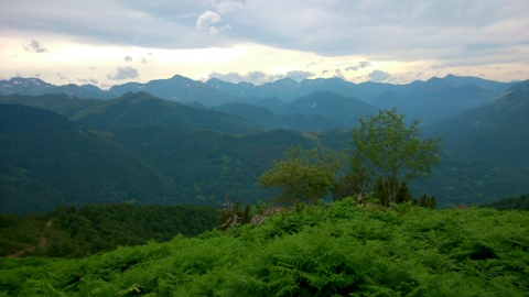 Col de l'Arrech (Ariège, France), 9 août 2014