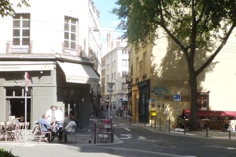 Lyon (France), place Sathonay, 21 août 2014