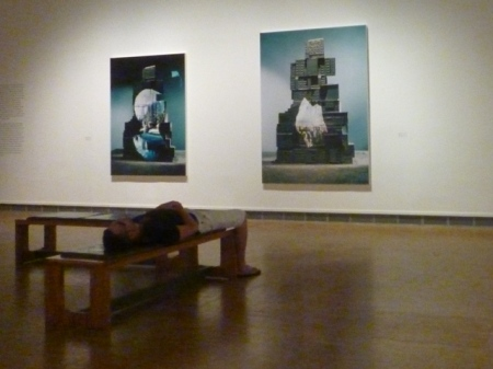 Pavillon populaire, Montpellier (France), 20 septembre 2014. Exposition « Patrick Tosani, Changements d'état, 1983-2014 »