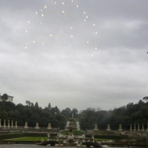 Jardin de Boboli, depuis le Palazzo Pitti, Florence (Toscane, Italie) | Giardino di Boboli, dal Palazzo Pitti, Firenze (Toscana, Italia), 27 décembre 2014