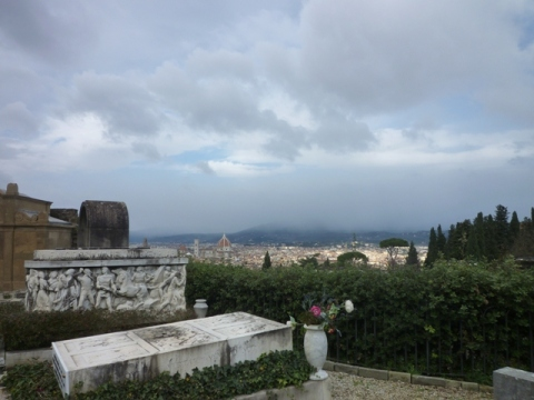 Florence (Toscane, Italie) | Firenze (Toscana, Italia), depuis San Miniato, 28 décembre 2014