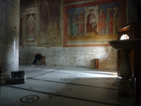 Église San Miniato, Florence (Toscane, Italie) | Chiesa San Miniato, Firenze (Toscana, Italia), 28 décembre 2014