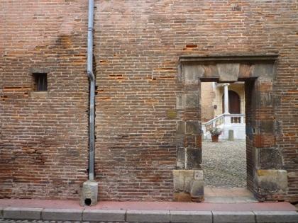 Toulouse, hôtel d'Ulmo, rue Ninau, 29 juin 2012