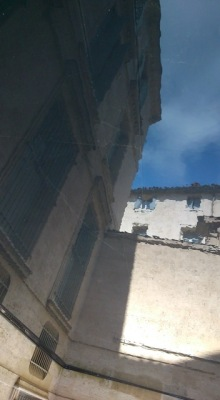 Montpellier (France), hôtel de Lunas, 13 juin 2015
