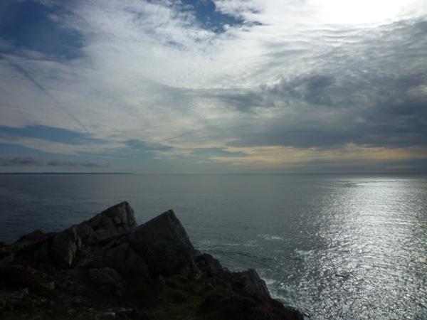 Pointe de Dinan, Crozon (Finistère, Bretagne), 28 août 2015