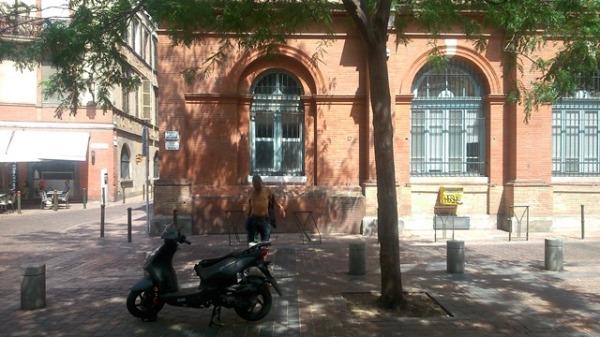 Toulouse (France), place de la Bourse, 5 juillet 2015