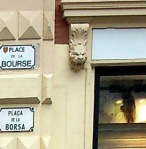 Toulouse (France), place de la Bourse