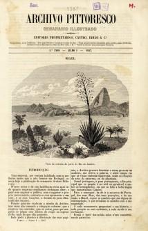 Archivo pittoresco : semanário illustrado. No. 1, julho 1, 1857
