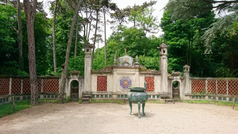 Paris (France), jardin d'agronomie tropicale de Paris, bois de Vincennes, 18 mai 2017