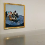 Montpellier (Occitanie, France). Musée Fabre, exposition « Francis Bacon/Bruce Nauman. Face à face. » 15 août 2017.